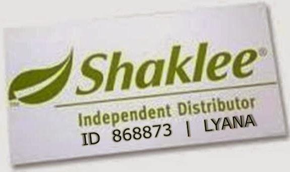 Saya Liana pengedar Shaklee berdaftar dengan ID 868873