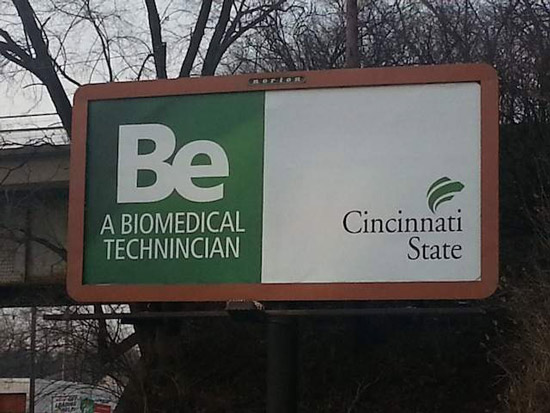 cincinnati state billboard mistake