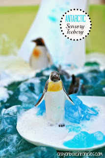 http://crayonboxchronicles.com/2013/11/10/antarctic-sensory-iceberg-sensational-winter-play-series/