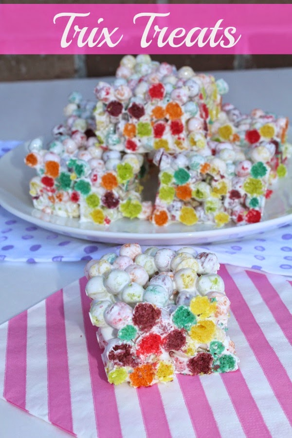 trix treats recipe
