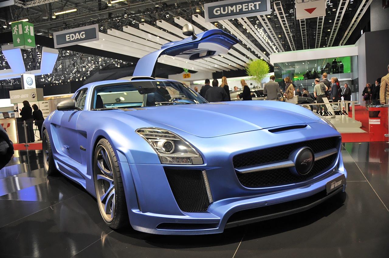 FAB Mercedes SLS AMG BLUE