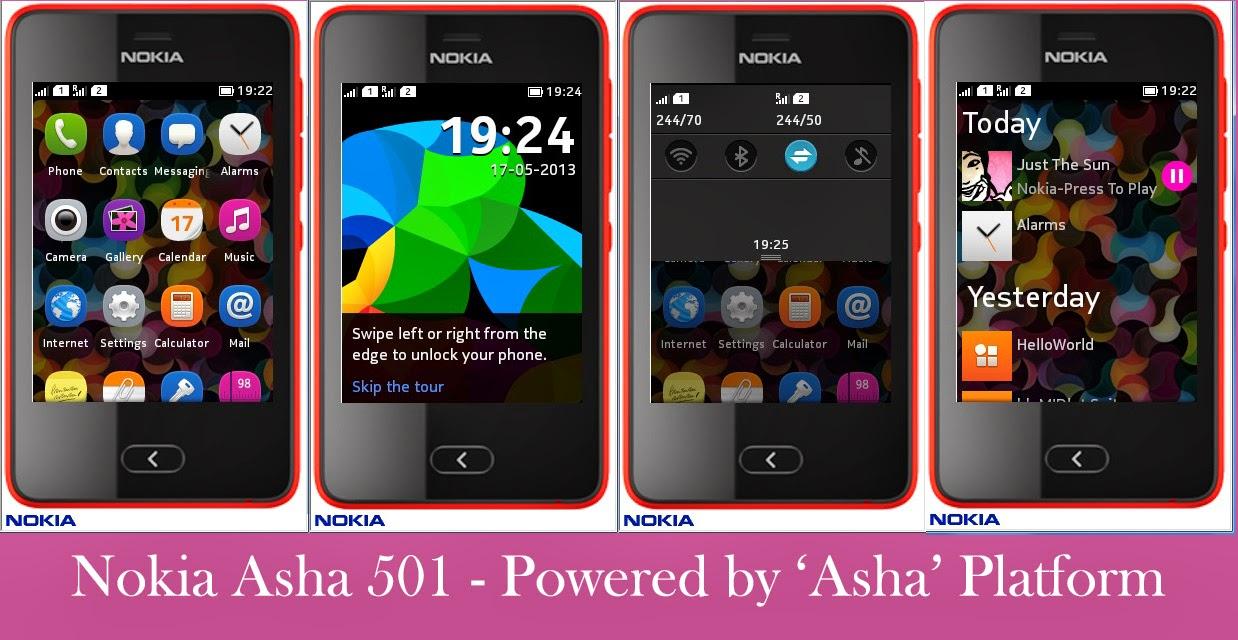 Harga dan Spesifikasi Nokia Lengkap Asha 501 terbaru