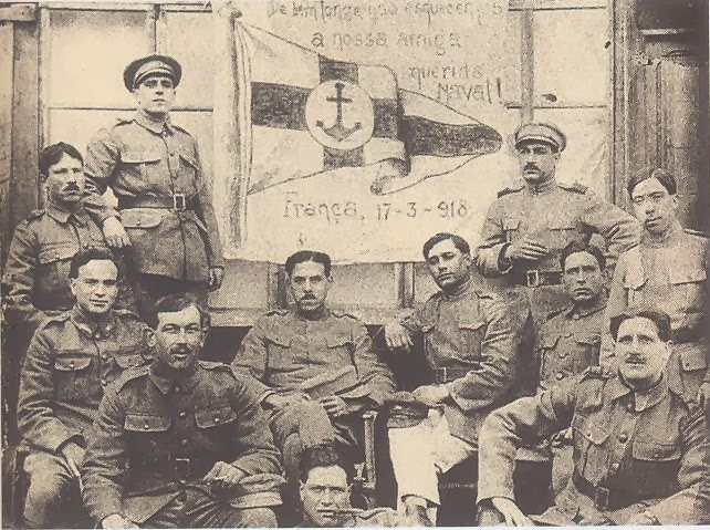 <b>1918 - Na 1ª Guerra Mundial</b>