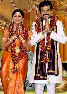 Karthi and Ranjani marriage album