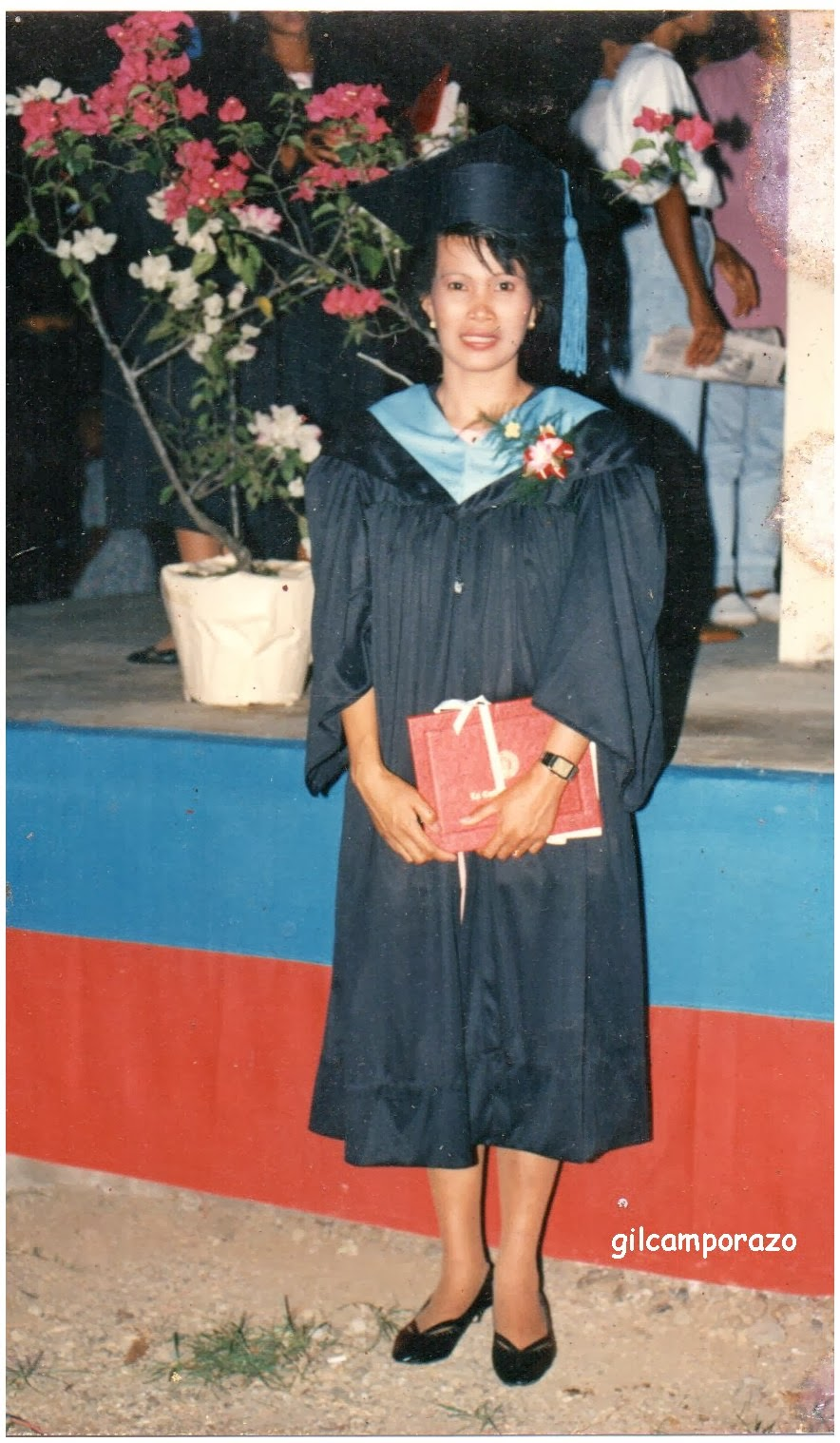 Rebecca Camporazo BEED graduation in 1991