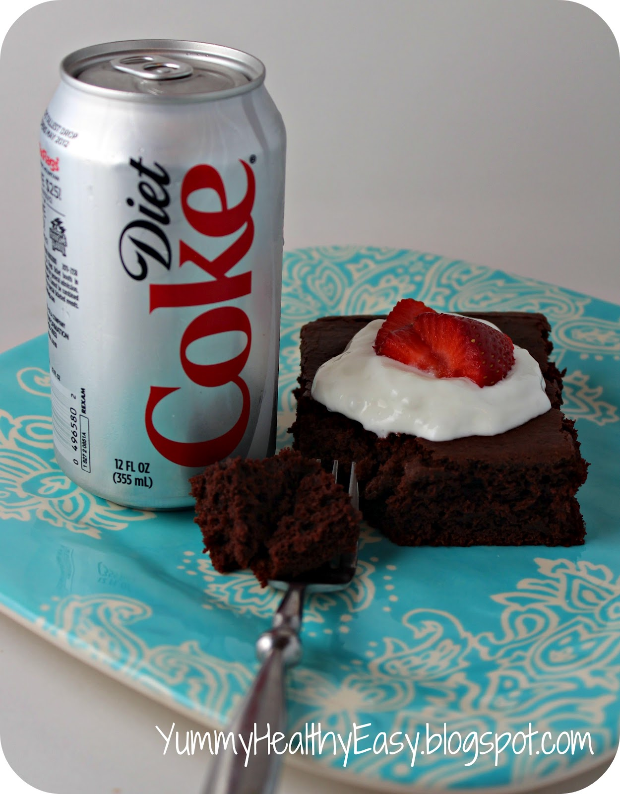 ... thought that a diet soda cake mix a decadent yet low fat cake consider