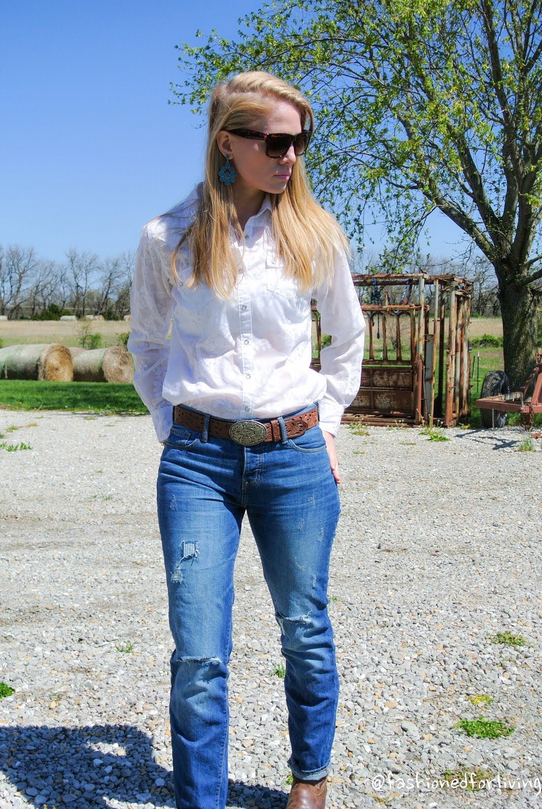 cowboy boots for women outfits jeans with lastest photo in