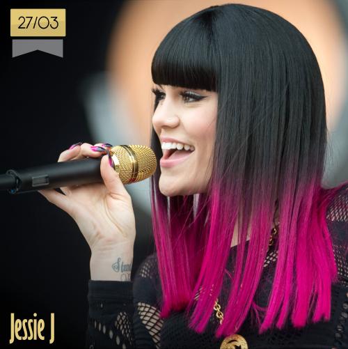 27 de marzo | Jessie J - @JessieJ | Info + vídeos