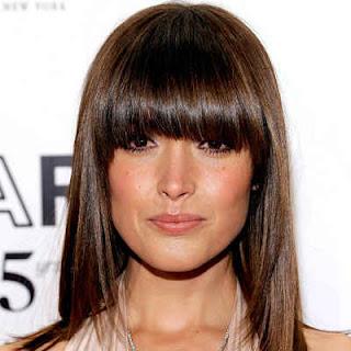 Tendências moda de cabelos com franja2012