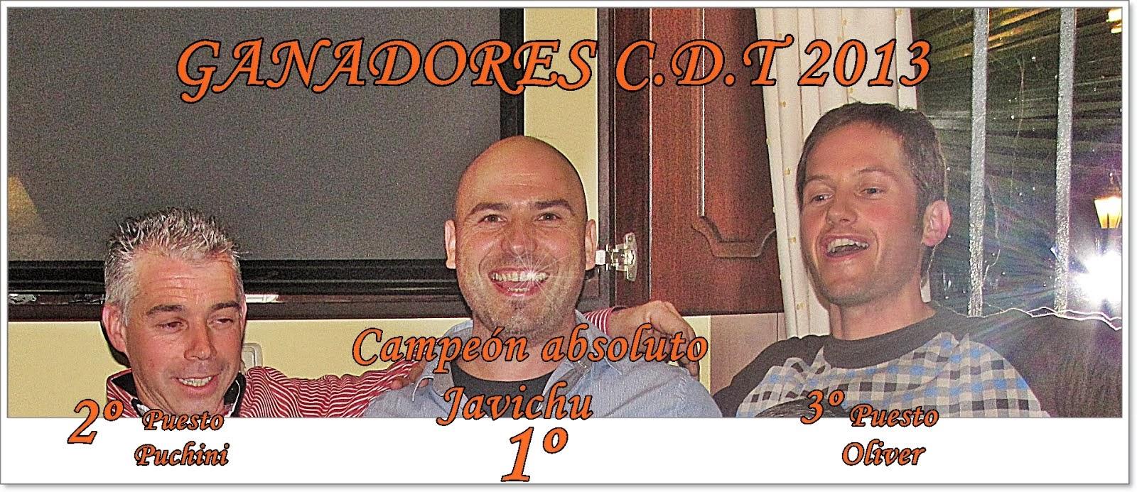 Ganadores CDT 2013