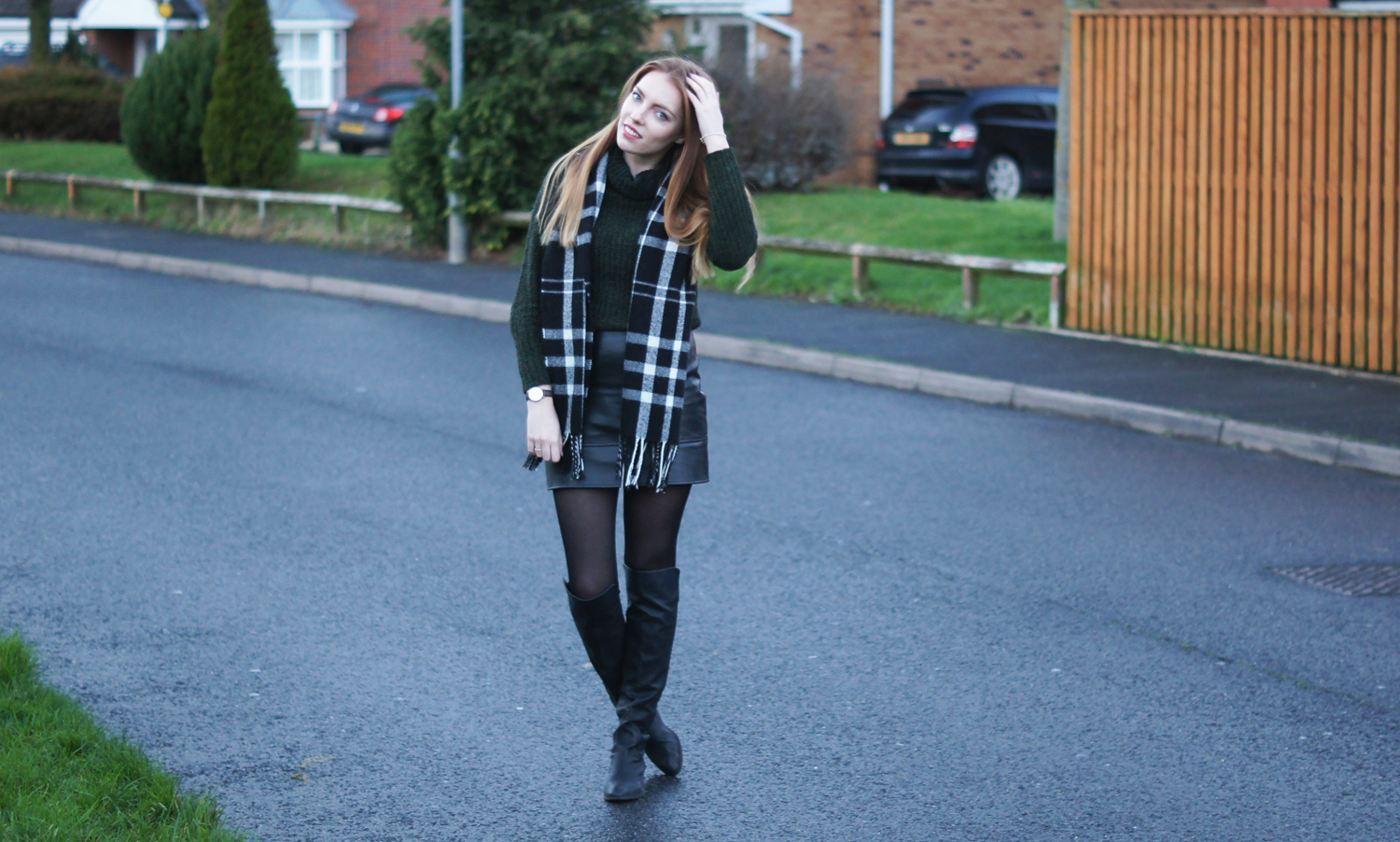 knee high boots asos new look