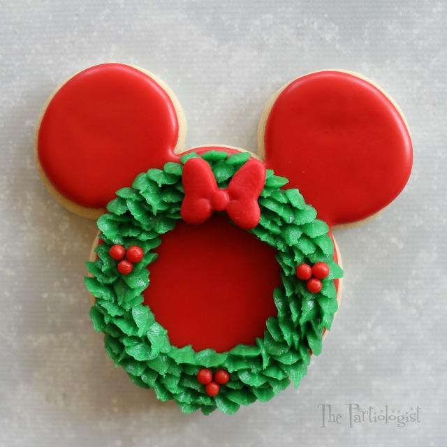 rudolf mickey - Mickey Mouse Christmas Cookies