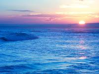 Gün Doğumu Sahilde, Deniz Kıyısında Gün Doğuşu Manzarası, Şafak Vakti, Sabah Vakti