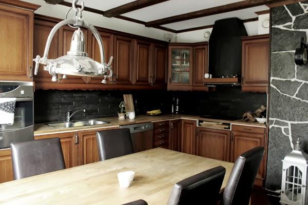 kök före renovering, ek kök,
