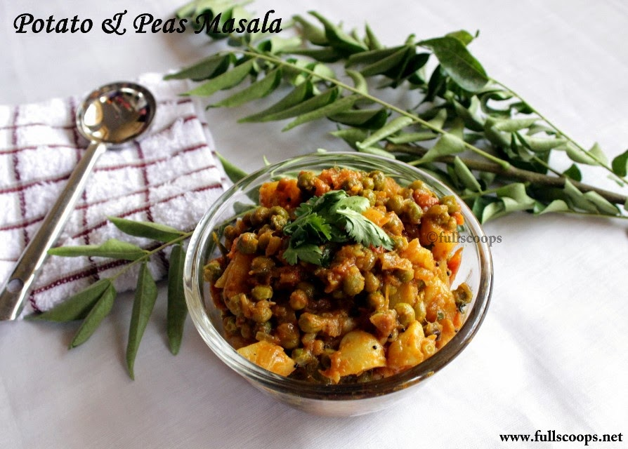 Potato and Peas Masala