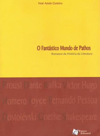 capa do livro O Fantástico Mundo de Pathos
