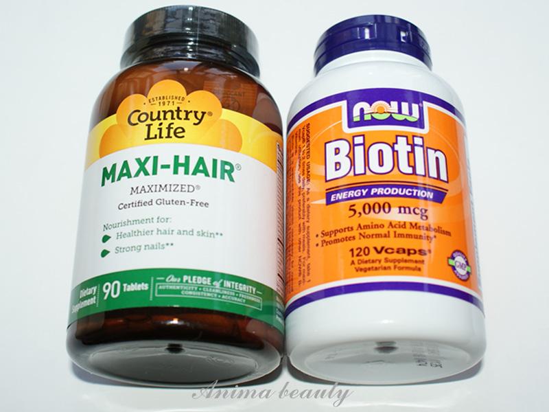 Витамины для роста волос биотин