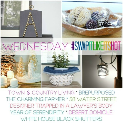Swap It Like It's Hot – Thrifted Makeovers (Wednesday)