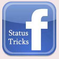 facebook status tricks