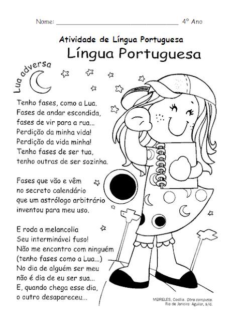 Muitas vezes Atividades de Língua Portuguesa - leitura, interpretação  BE24