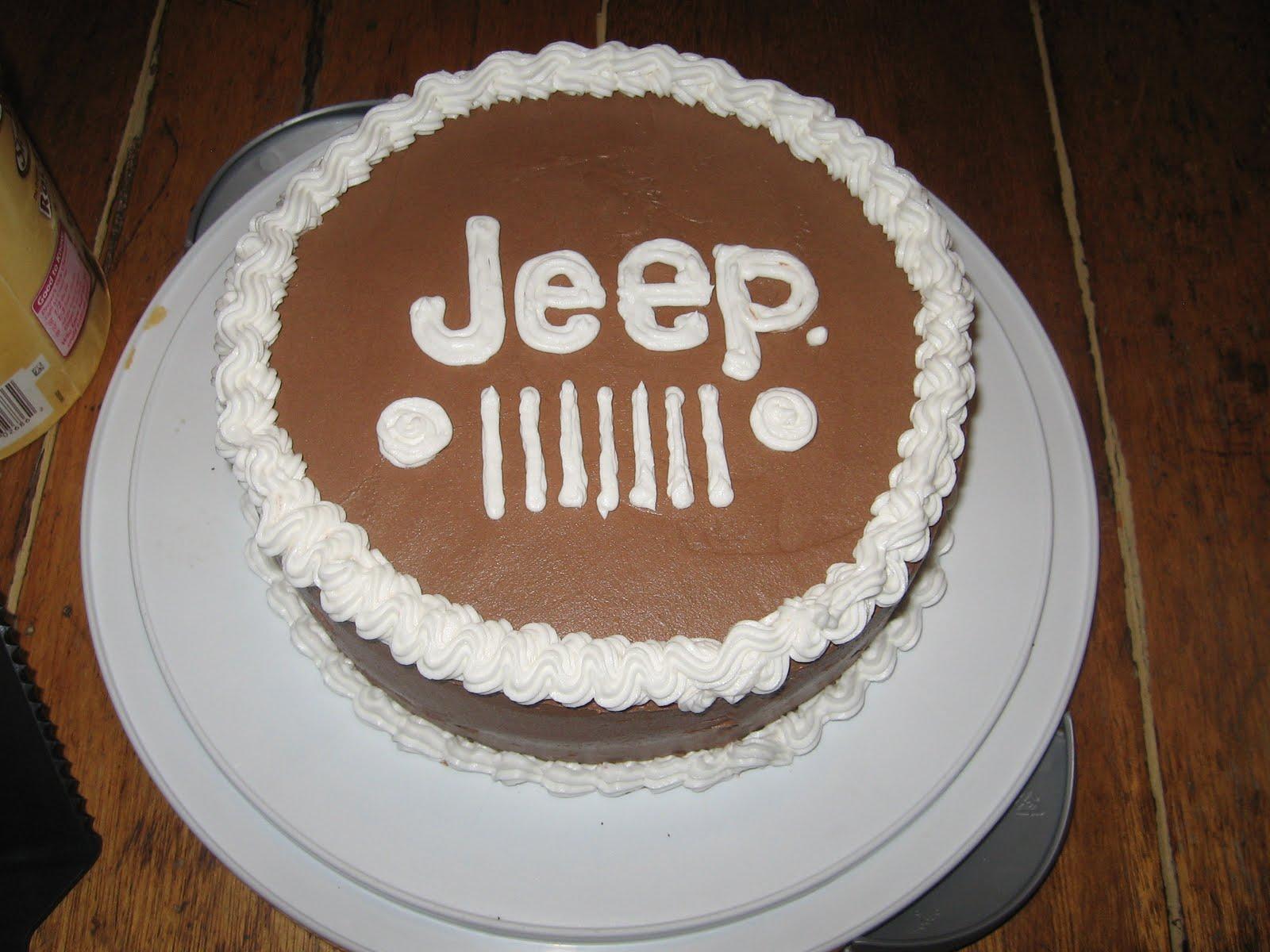 Magna Made Cakes: Jeep Cake