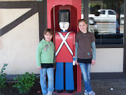 Kristy and Abby in front of the Inn