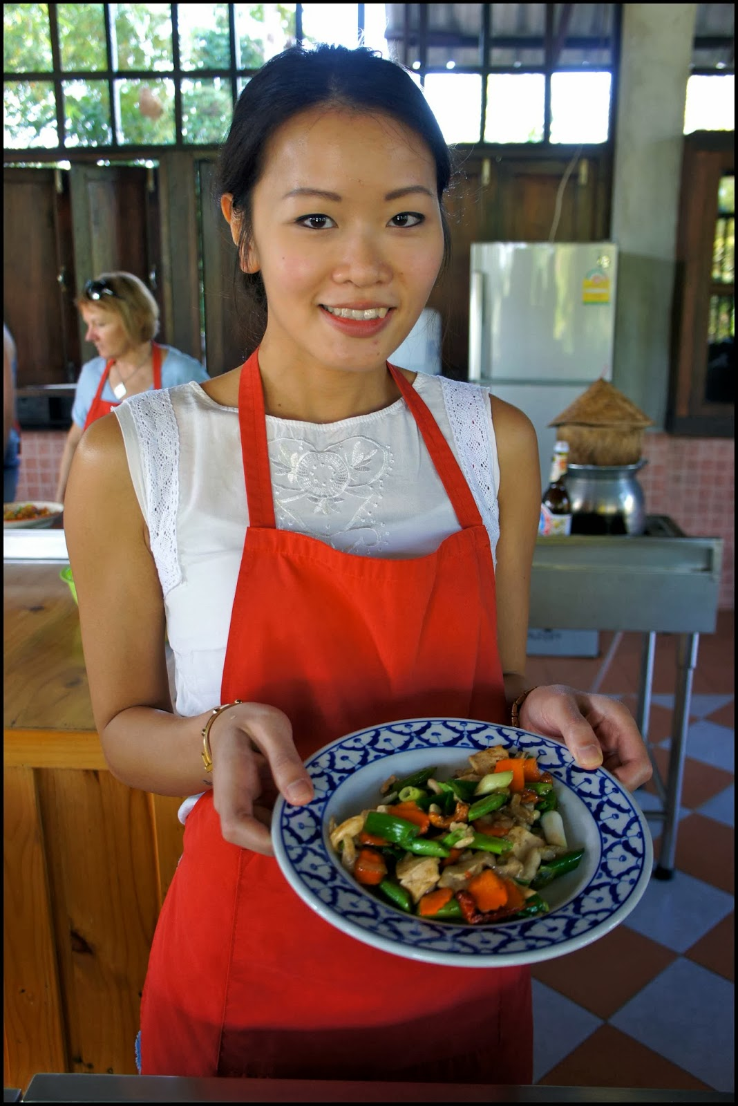 Thai farm cooking school Chiang Mai