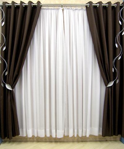 Cortinas decorativa cortinas e persianas - Imagenes de cortinas ...