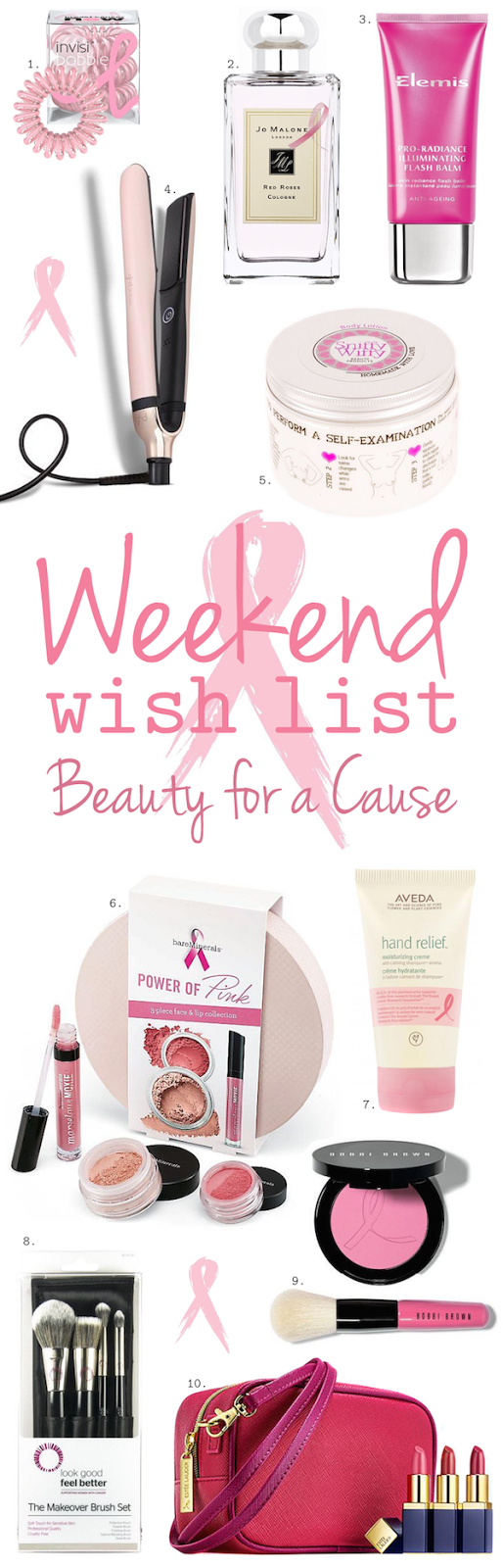 Weekend Wish List – Beauty For A Cause
