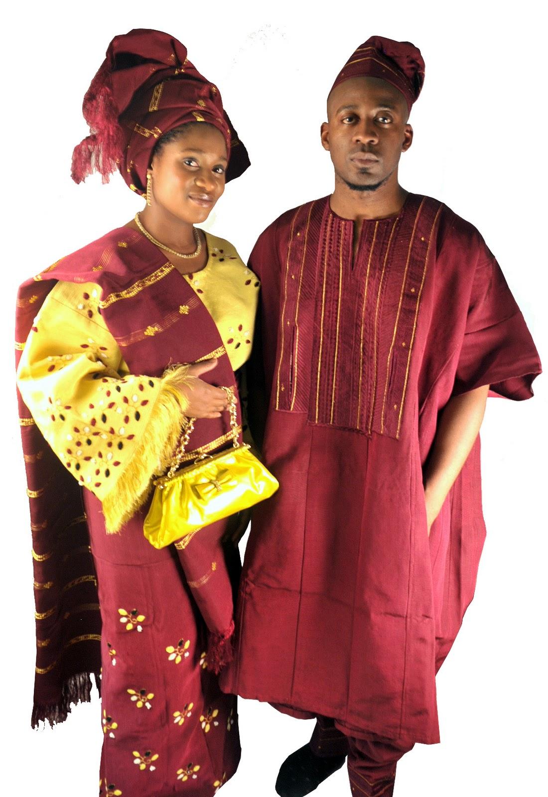 aso oke nigerian wedding dress - Traditional Marriage Cloth