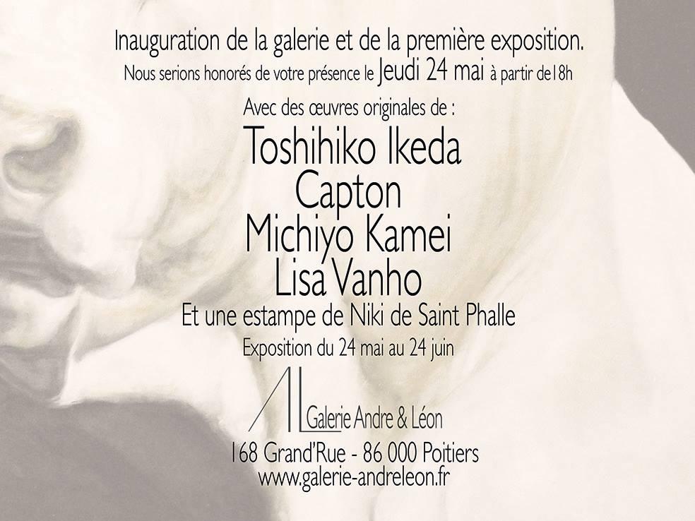 NOUVEAU À POITIERS : LA GALERIE ANDRE & LEON OUVRE SES PORTES ET INVITE CAPTON