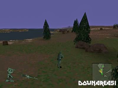 Army Men 3D PSX Game
