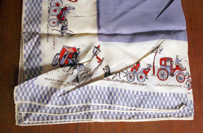Mackinac Island scarf