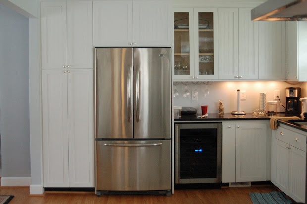Kitchen with Refrigerator