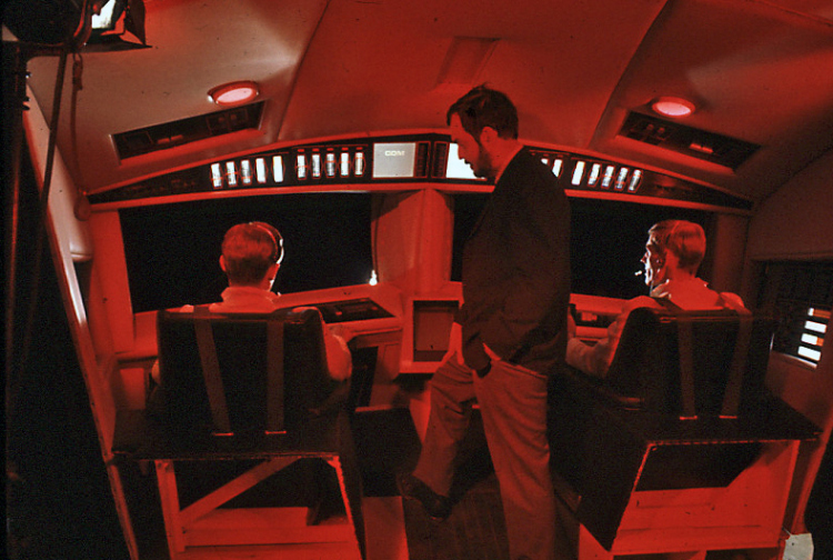 nuncalosabre.2001: A Space Odyssey - Behind the scenes