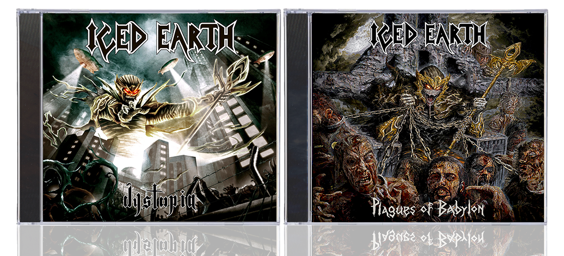 Iced Earth Discografia l Power/Thrash Metal (1990-2014)