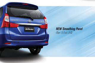 New Smoothing Panel grand new avanza