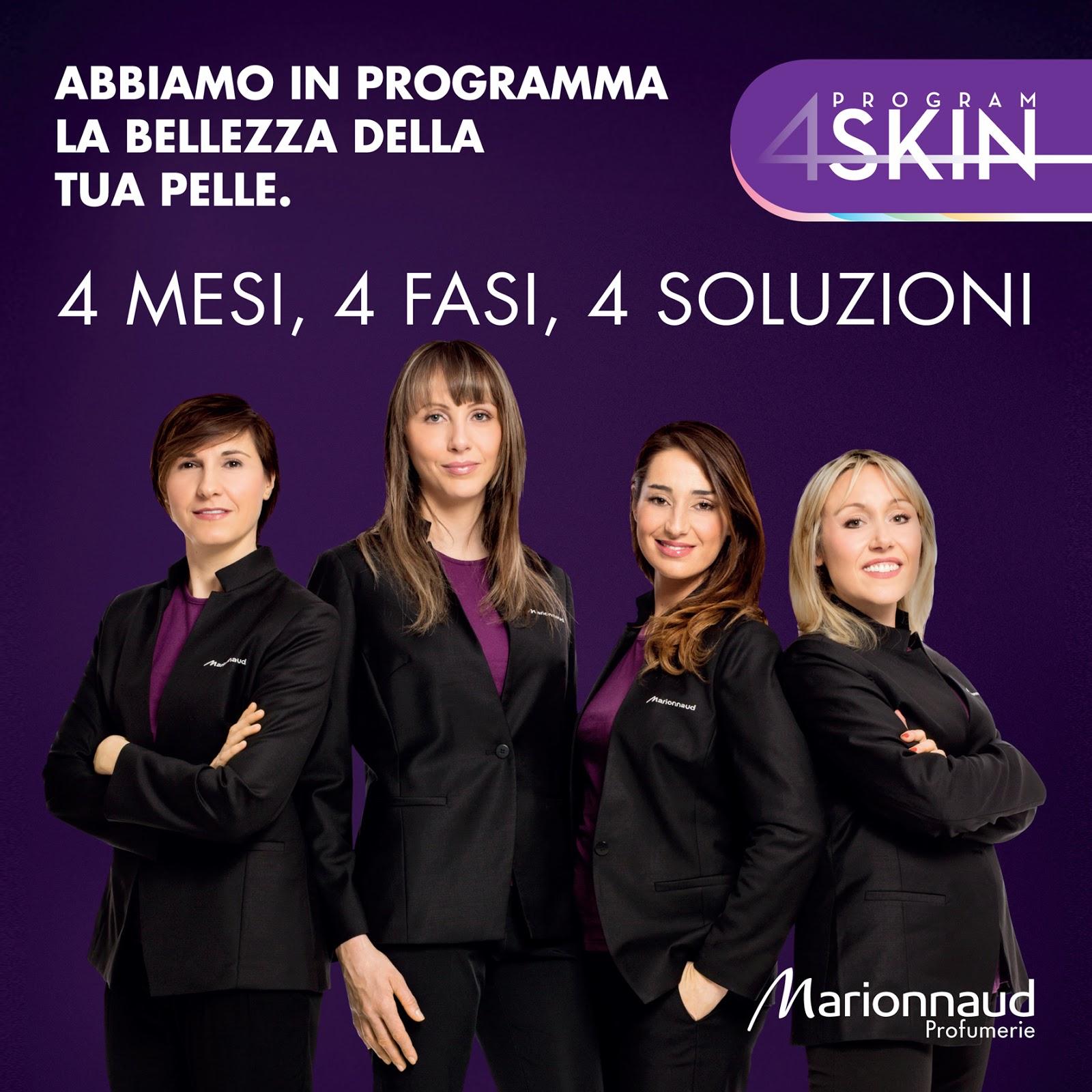 marionnaud 4skin program: fase 3 viso