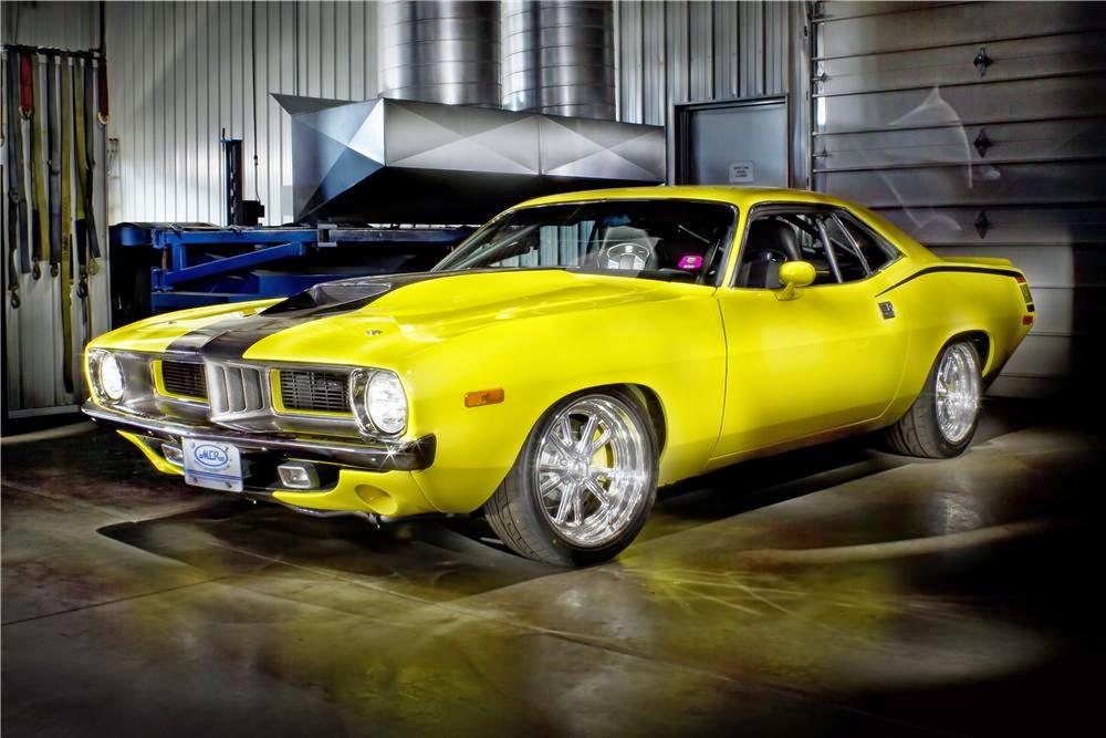 GTP Cool Wall: 1970-1974 Plymouth Barracuda