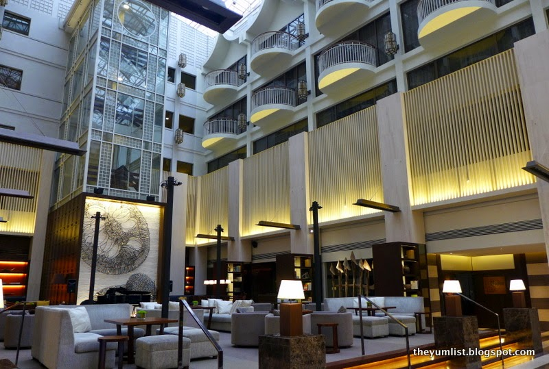 The Lounge, Afternoon Tea, Hyatt Regency Kinabalu