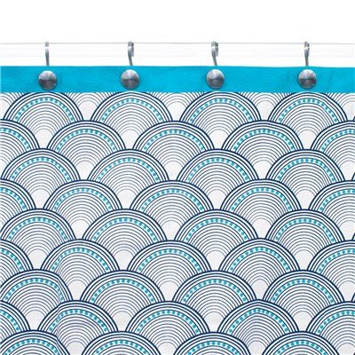 Bring A Happy Chic Mood To The Day With The Colorful And Bold Designs Of Jonathan  Adler. The Fishscales Shower Curtain Delights The Bathroom In A ...