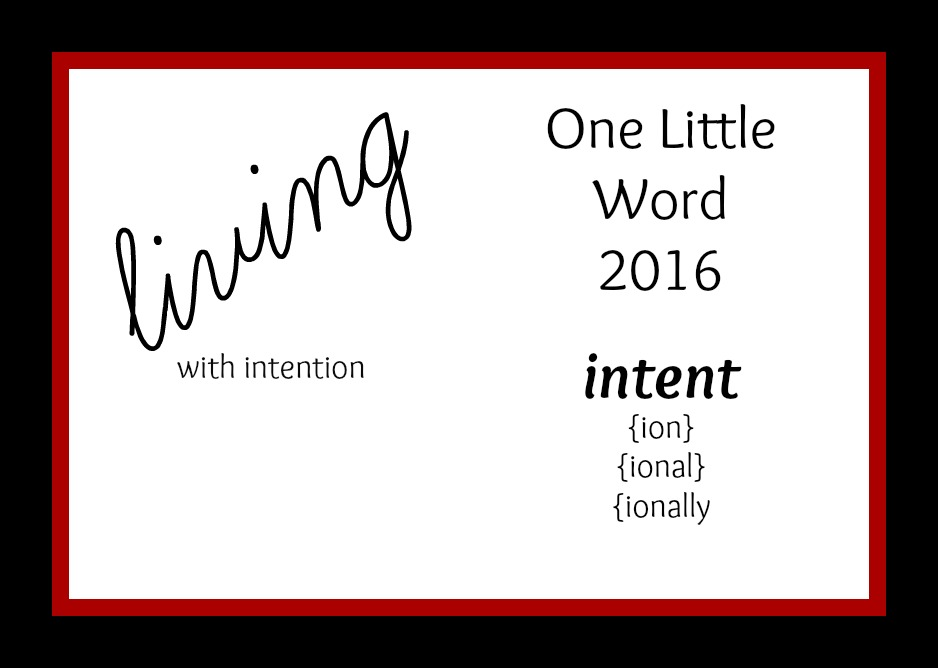 One Little Word 2016