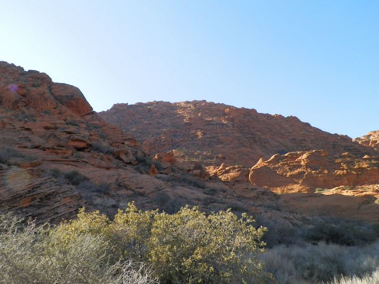 Nearby Snow Canyon