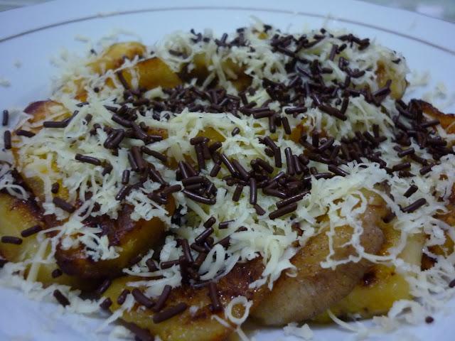 Resep Dan Cara Membuat pisang goreng coklat