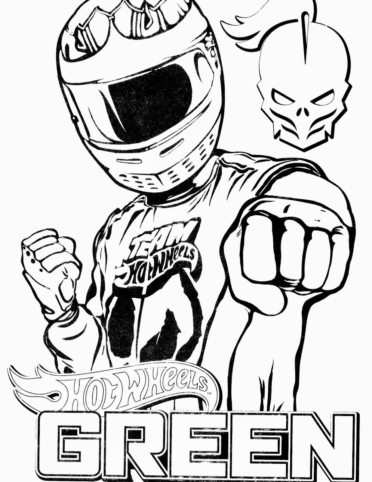 Hot Wheels Coloring Pages 60
