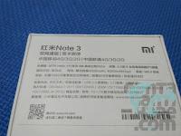 Xiaomi Redmi Note 3 Indonesia - Keterangan di belakang Box Kemasan