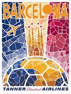 ilustração de Barcelona