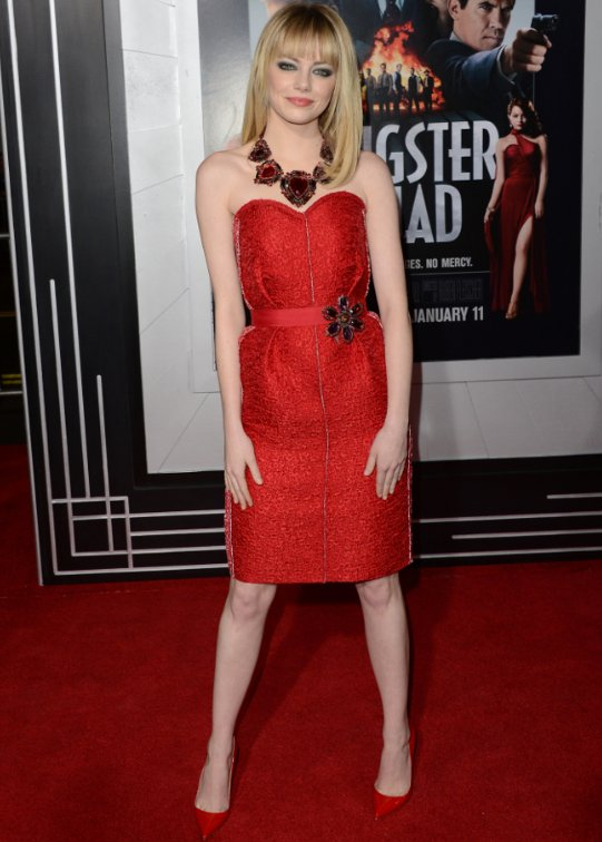 Emma Stone Red Carpet Style 2013: She's Hot!