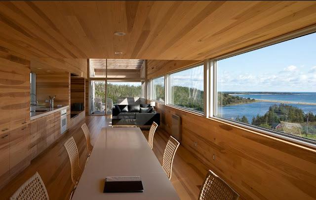The Sliding House Vacation Rental In Nova Scotia