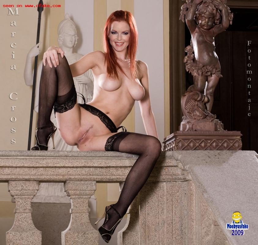 Naked marcia cross Marcia: Definitely